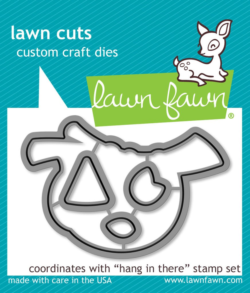 Lawn Fawn - Lawn  Cuts - Hang in There
