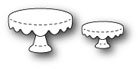 #*Poppystamps - Stitched Cake Plates