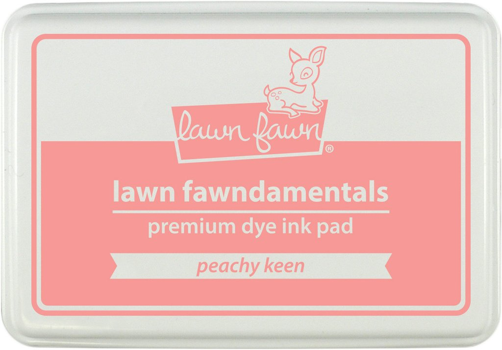 *NEW* - Lawn Fawn - Lawn Inks - Peachy Keen Ink Pad