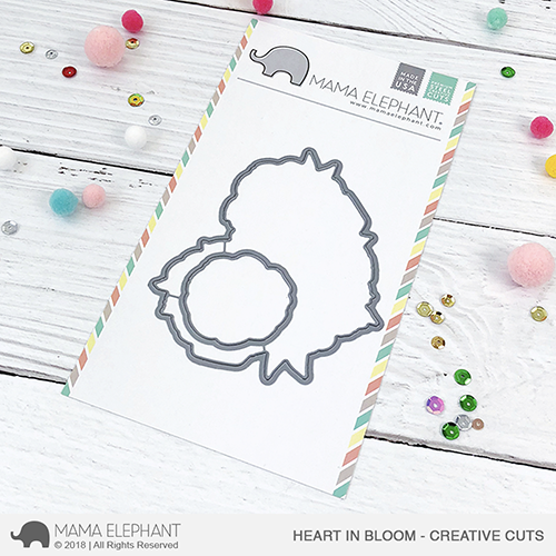 *NEW* - Mama Elephant - Heart In Bloom - Creative Cuts