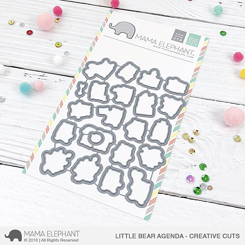 *NEW* - Mama Elephant - Little Bear Agenda - Creative Cuts