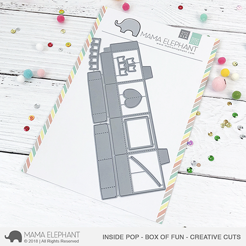 *NEW* - Mama Elephant - Inside Pop - Box of Fun - Creative Cuts