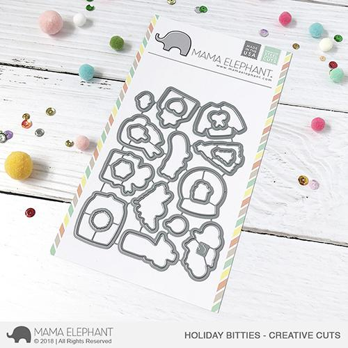*NEW* - Mama Elephant - Holiday Bitties - Creative Cuts