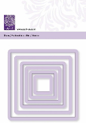 cArt-Us - Punch & embossing template frame square 6x