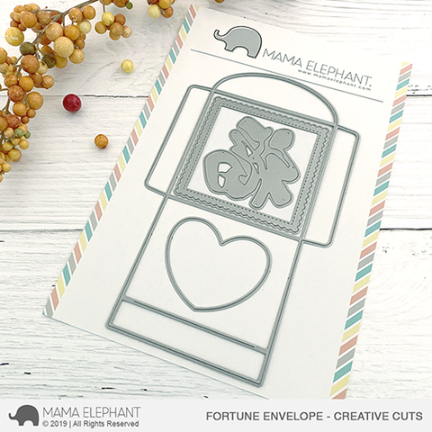 Mama Elephant - Fortune Envelope - Creative Cuts