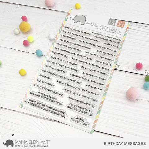 Mama Elephant - BIRTHDAY MESSAGES