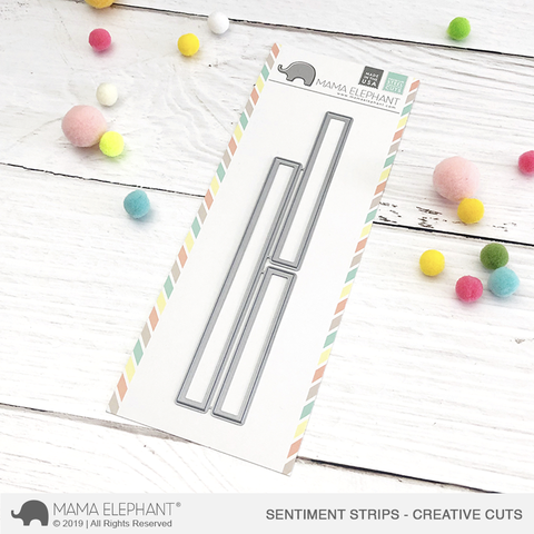 *NEW* - Mama Elephant - Sentiment Strips - Creative Cuts