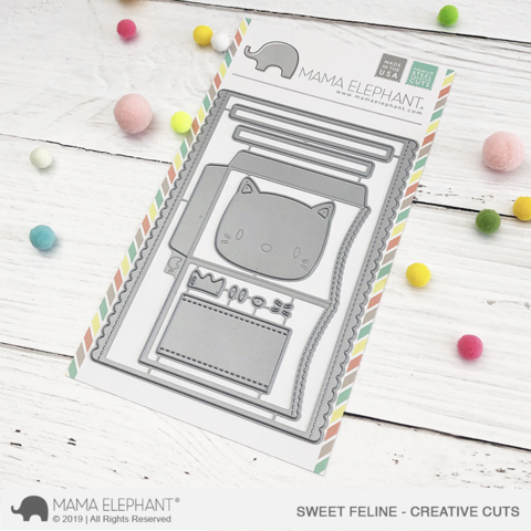 *NEW* - Mama Elephant - Sweet Feline - Creative Cuts