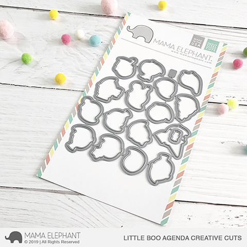 Mama Elephant - Little Boo Agenda Creative Cuts