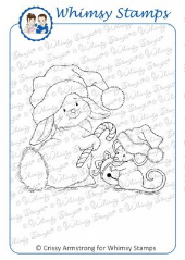 Whimsy Stamps - 2 Christmas Tales - Crissy Armstrong Collection
