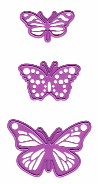 Joy! Crafts - Cutting and Embossing - Butterflies