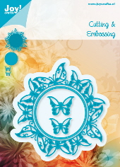Joy! Crafts - Cutting & Embossing - Around With Butterflies