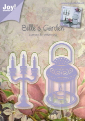 Joy! Crafts - Billie's Garden - Candle and Lamp