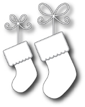 **XMAS* Memory Box - Precious Stockings