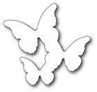 #Memory Box - Floating Butterflies Background