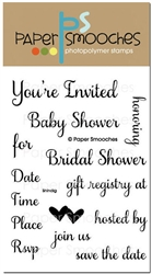 Paper Smooches - STAMPS - Shindig