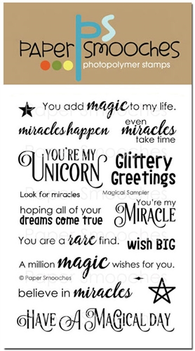 *NEW* - Paper Smooches - Magical Sampler