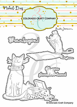 Colorado Craft Company - Anita Jeram~Thank You Kindly Dies