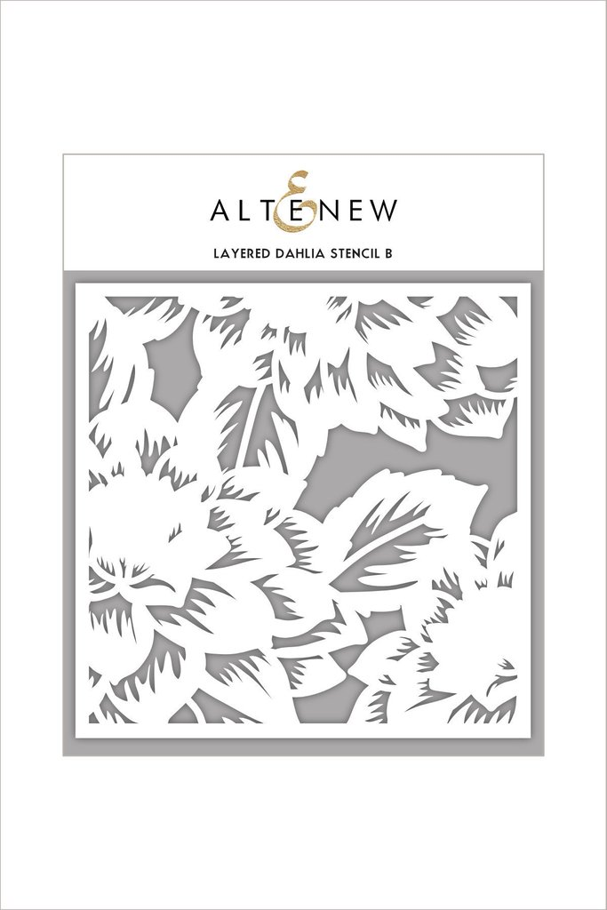 *NEW* -  Altenew - Layered Dahlia Stencil B