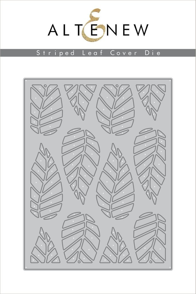 *NEW* - Altenew - Striped Leaf Cover Die