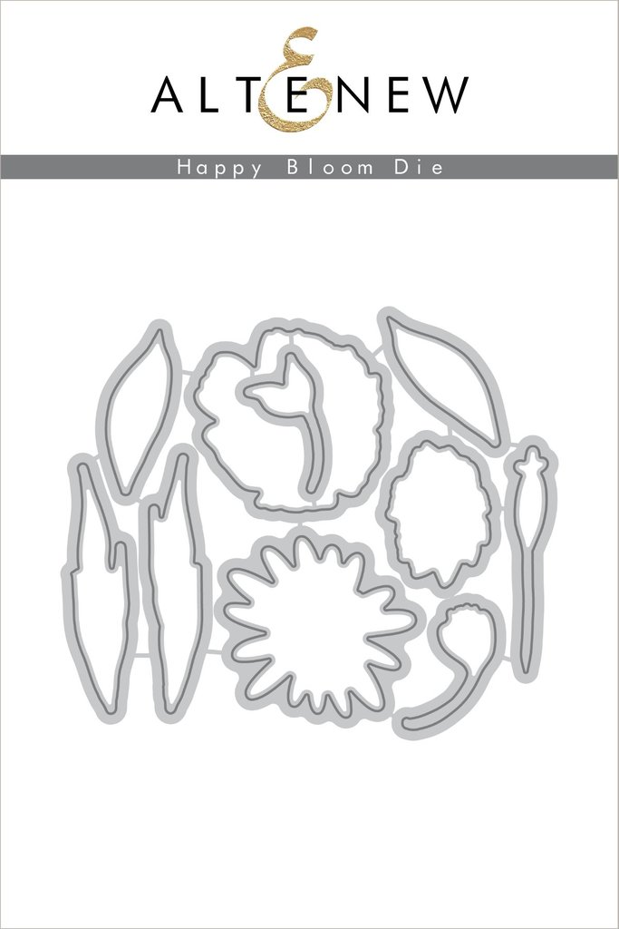 *PRE-ORDER* - Altenew - Happy Bloom Die Set