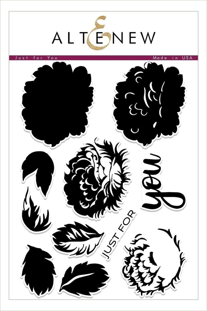 *NEW* - Altenew - Just for You Stamp Set