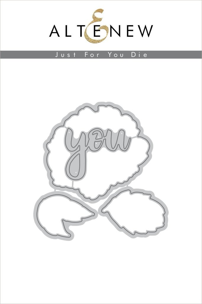 *NEW* - Altenew - Just for You Die Set