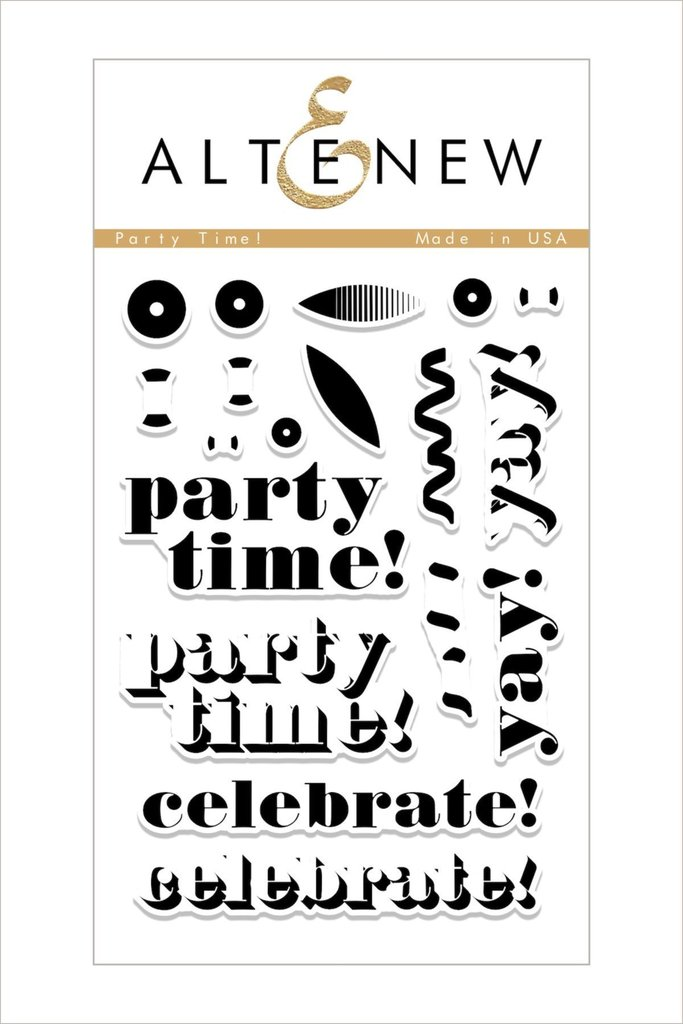 Altenew - Party Time! Stamp Set