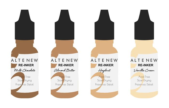 *NEW* - Altenew - Delectable Delights Re-inker Set