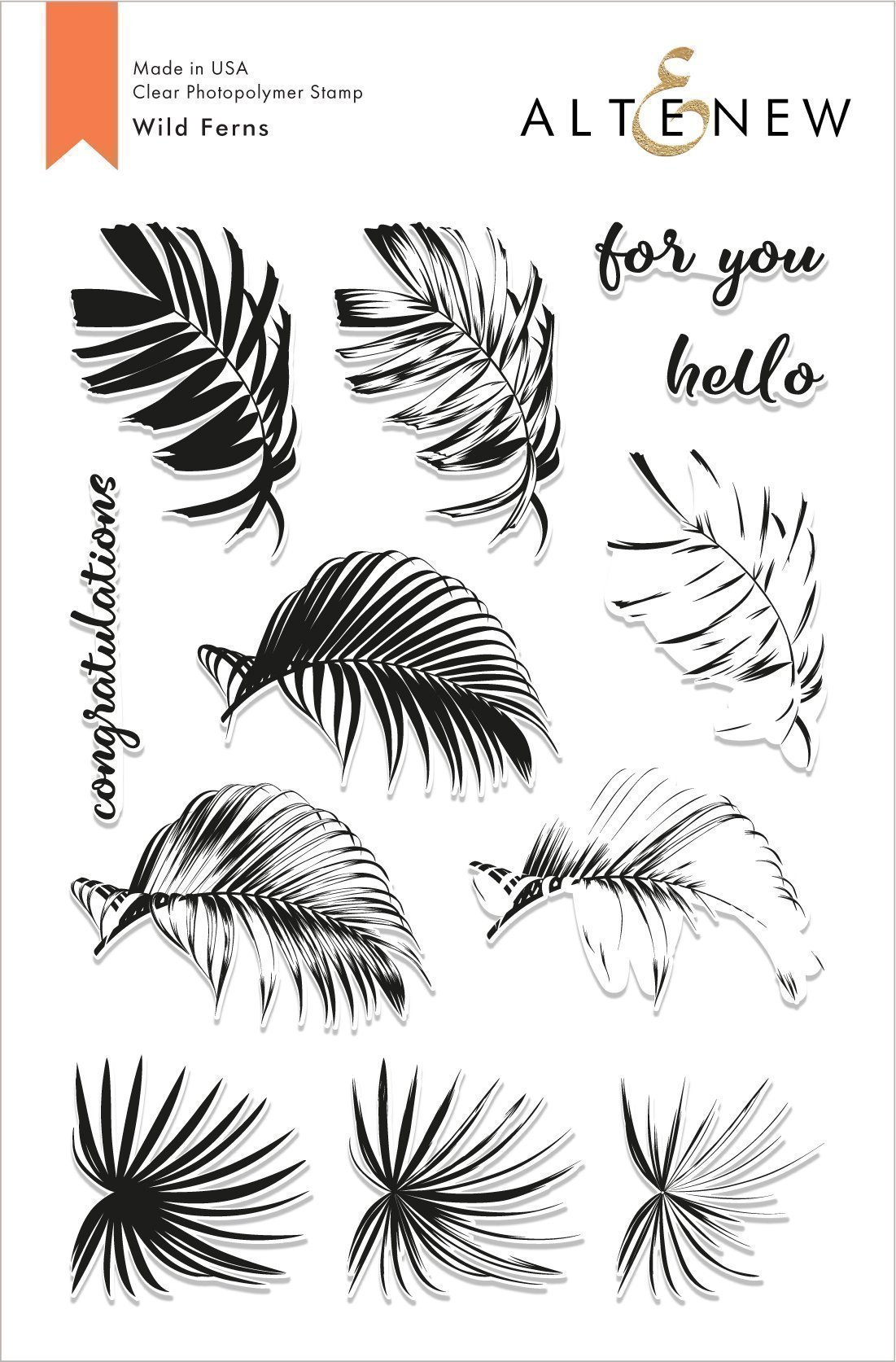 *NEW* - Altenew - Wild Ferns Stamp Set