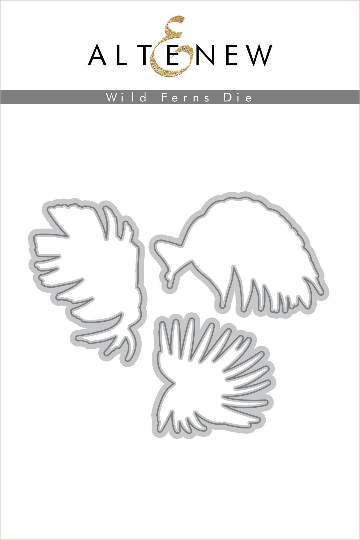 *NEW* - Altenew - Wild Ferns Die Set