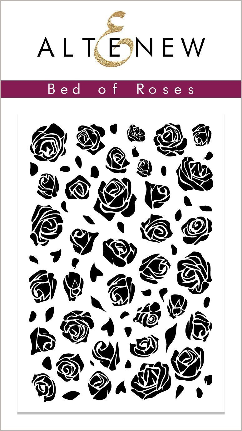 *NEW* - Altenew - Bed of Roses Stamp Set
