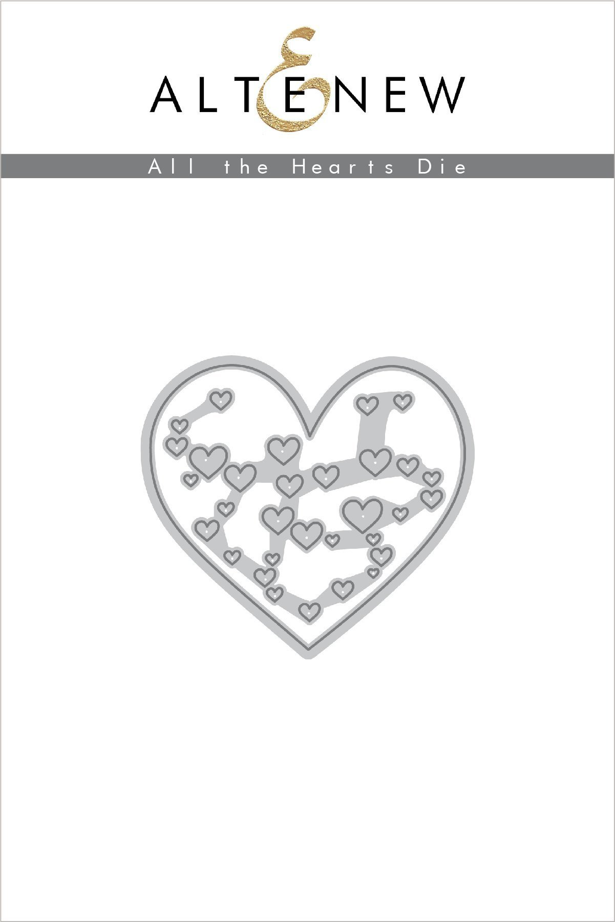 *NEW* - Altenew - All the Hearts Die Set