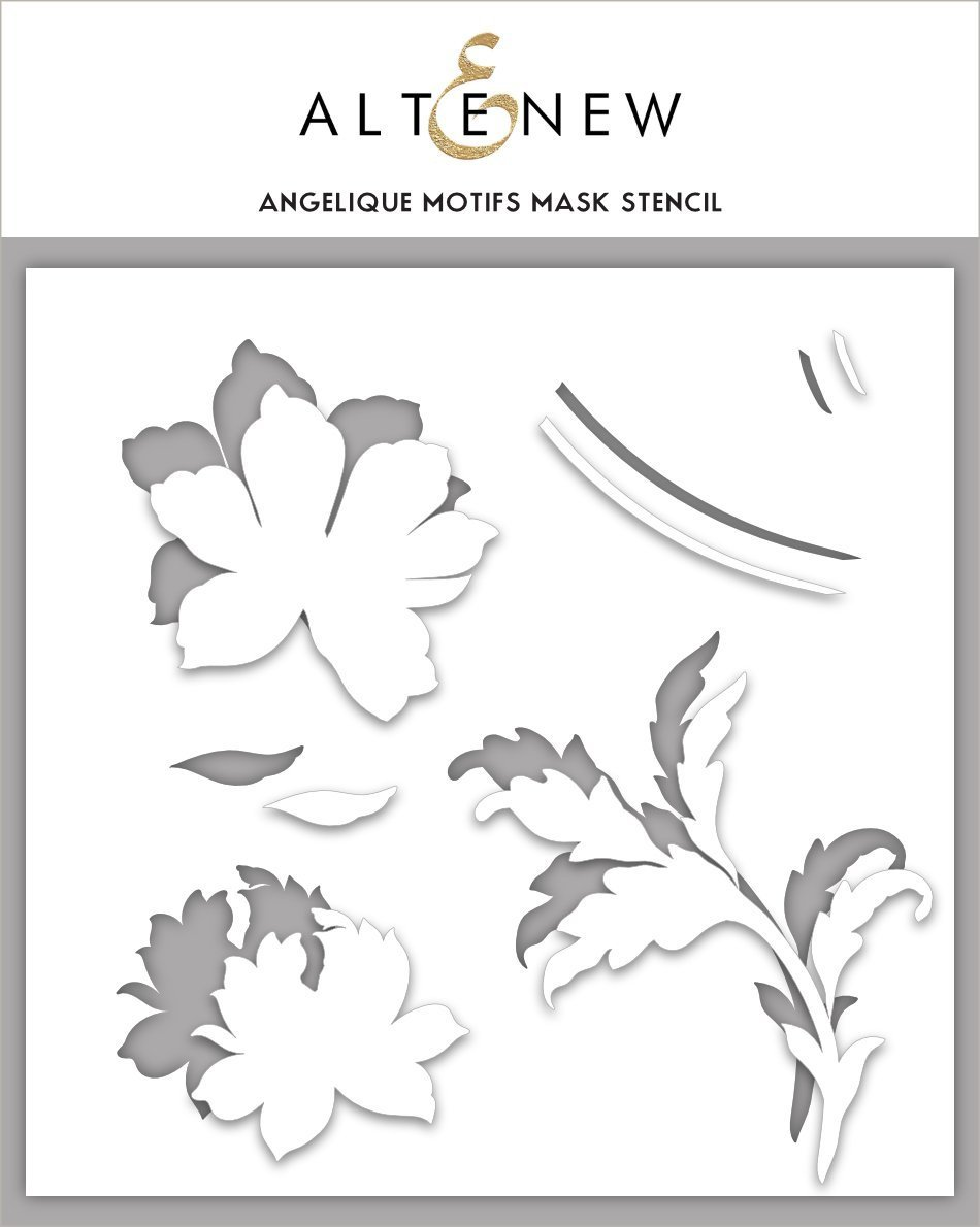 *NEW* - Altenew - Angelique Motifs Mask Stencil