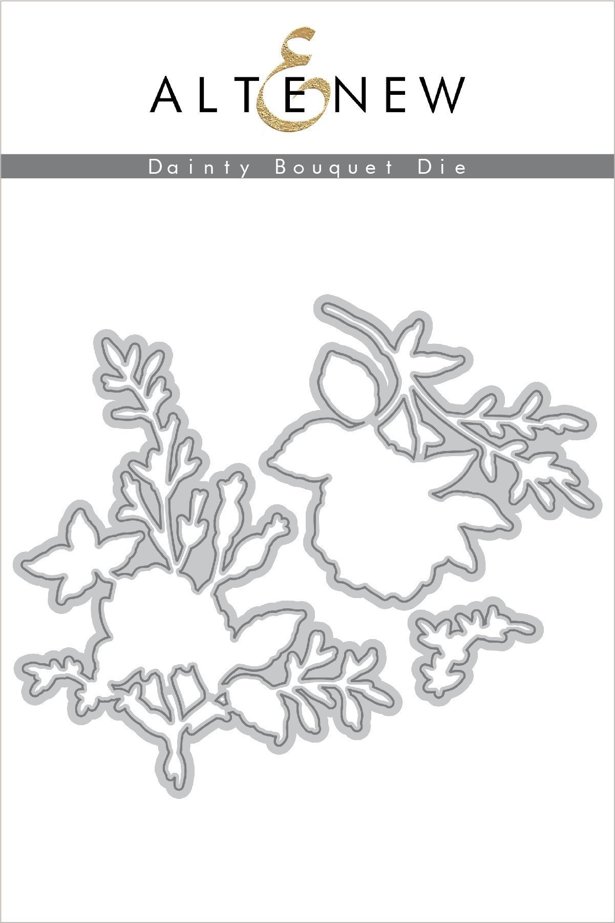 *NEW* - Altenew - Dainty Bouquet Die Set