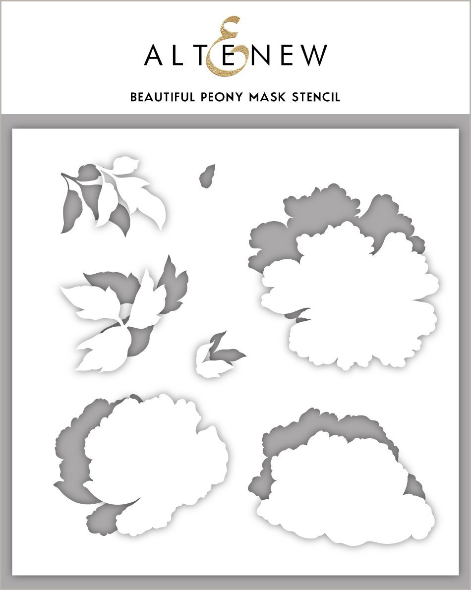 *NEW* - Altenew - Beautiful Peony Mask Stencil