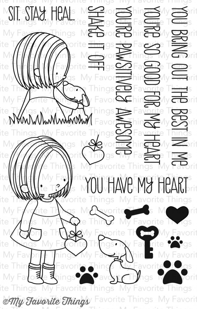 My Favorite Things - You Have My Heart Stamp