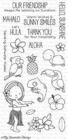 #### D  My Favorite Things - Polynesian Paradise Stamp Set
