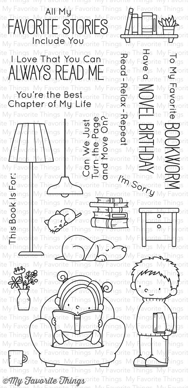 My Favorite Things - Our Story Stamp Set