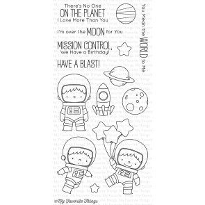 My Favorite Things - Space Explorer Stamp Set
