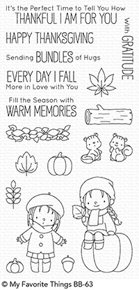 #### My Favorite Things - BB Fall Friends STAMP AND MATCHING DIE