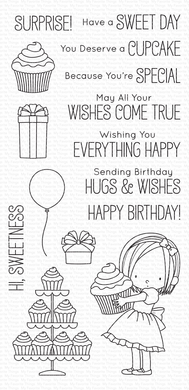 My Favorite Things - BB Sweet Birthday Wishes