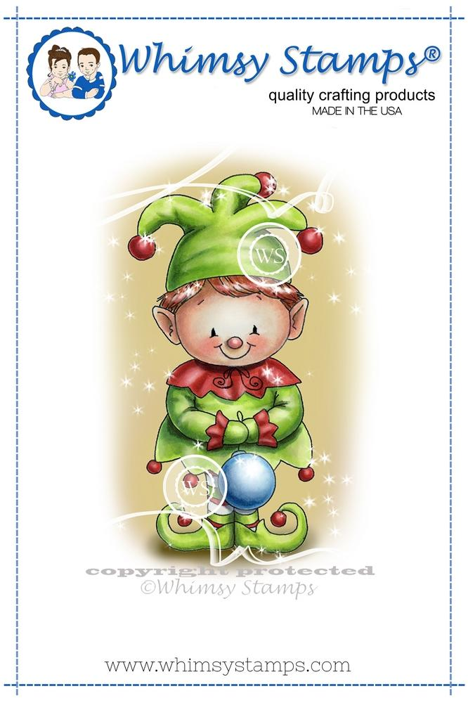 *NEW* - Whimsy Stamps - Christmas Elf
