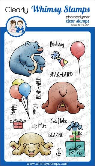 Whimsy Stamps - Bearing Gifts Clear Stamps