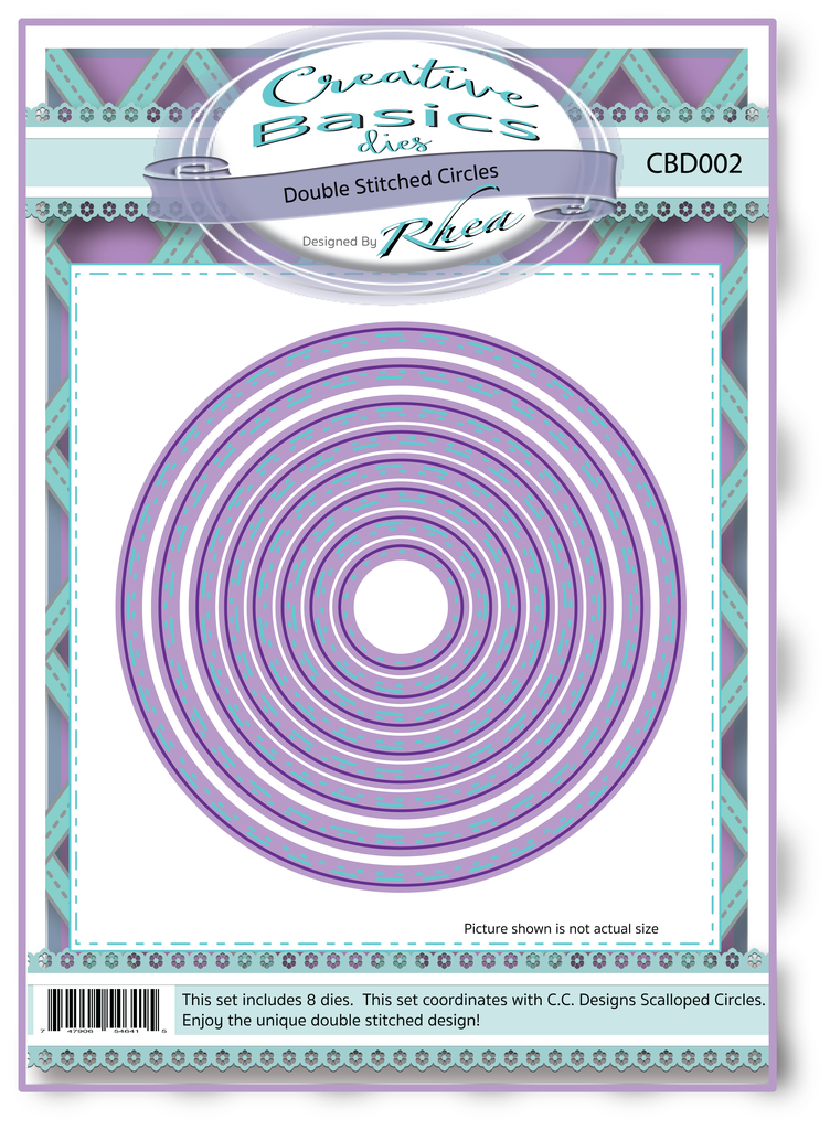 *NEW* - CC Designs - Creative Basics Double Stitched Circles Dies