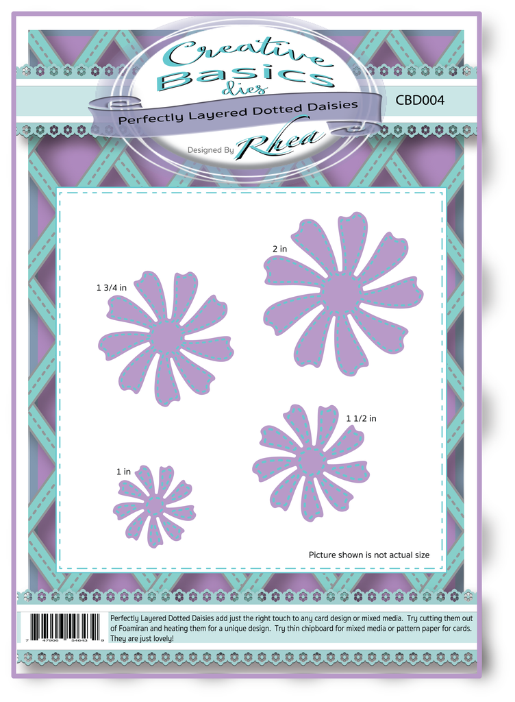 *NEW* - CC Designs - Creative Basics Dotted Daisies Dies