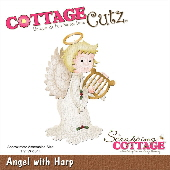 Cottage Cutz - Angel with Harp