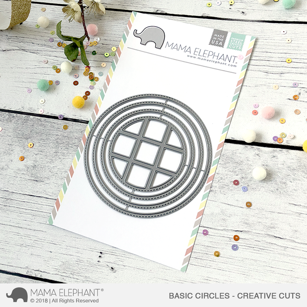 *NEW* - Mama Elephant - Basic Circles - Creative Cuts