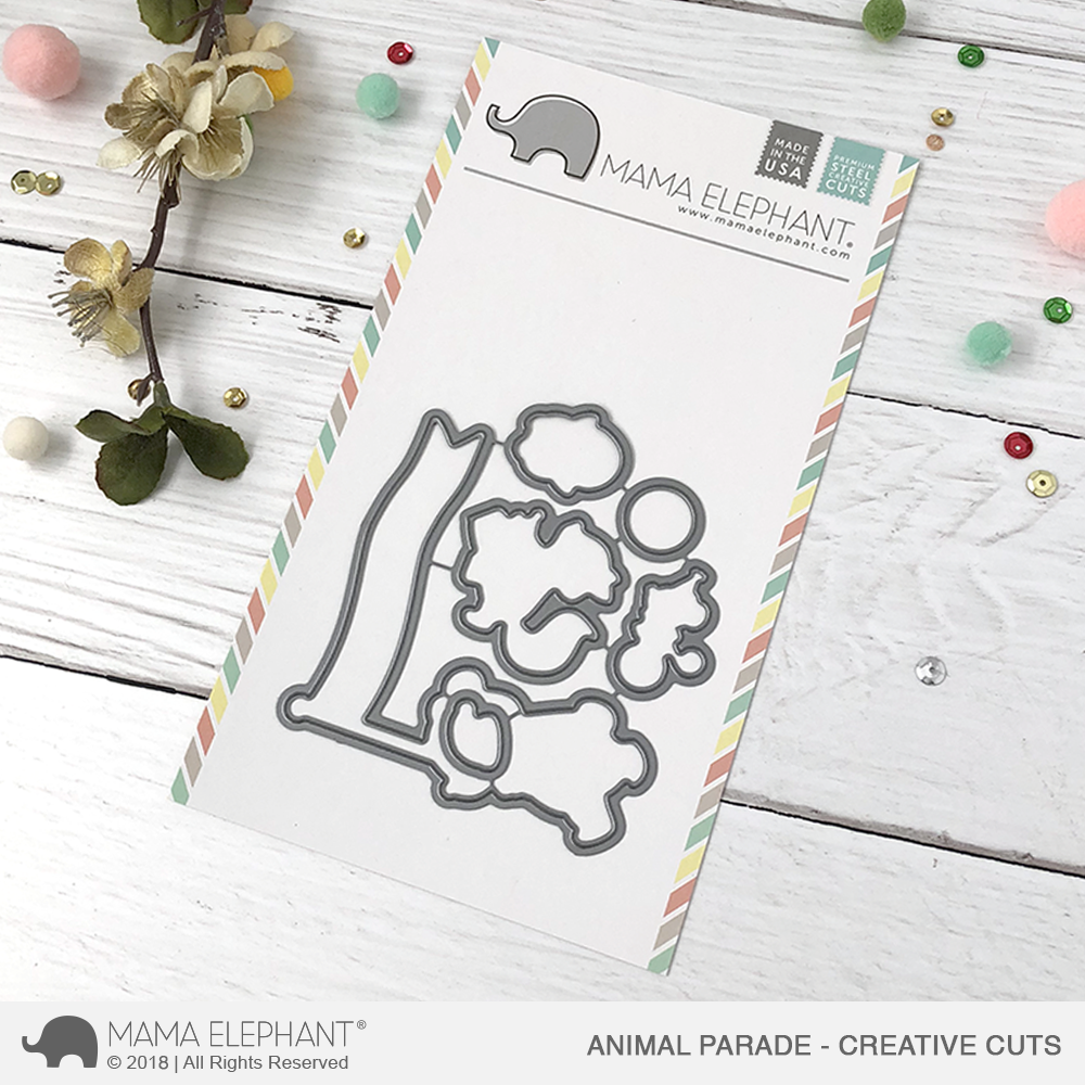 Mama Elephant - Animal Parade - Creative Cuts