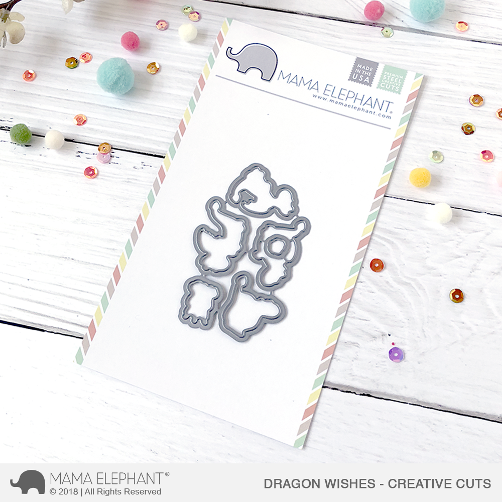 *NEW* - Mama Elephant - Dragon Wishes - Creative Cuts